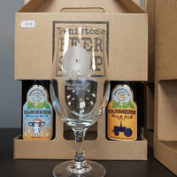 Bradfield Brewery Stemmed Pint Glass Gift Pack