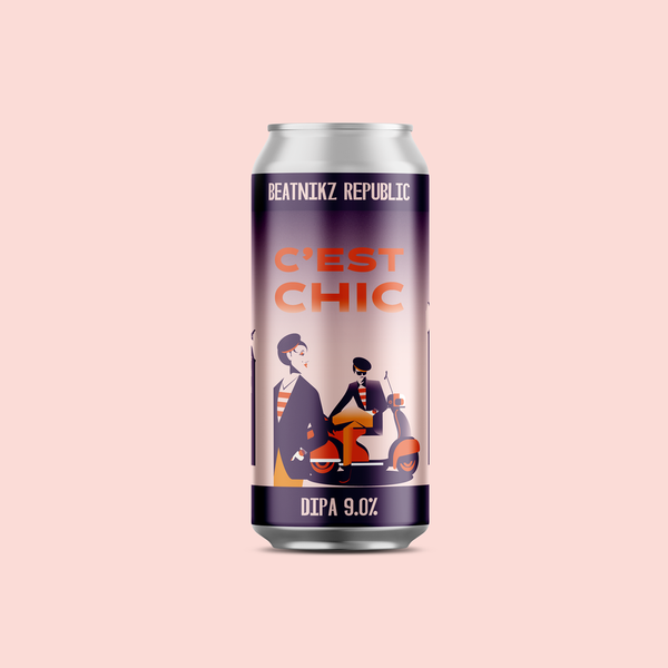 Beatnikz Republic C'est Chic DIPA 440ml 9%