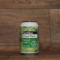 Two Tribes Powerplant Natural Lager 330ml 4.5%