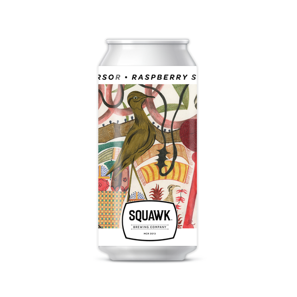 Squawk Cursor Raspberry Sour 440ml 5.3%
