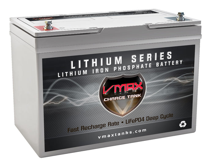 VMAX LFP27-12100 LiFePO4 Li-Ion 12V 100AH Deep Cycle Battery