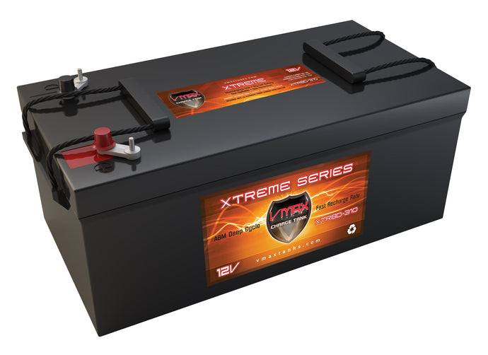 VMAX XTR8D-310 12Volts 310AH Deep Cycle, XTREME AGM Solar Battery