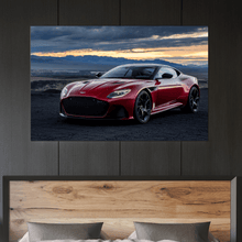 Load image into Gallery viewer, Aston DBS Superleggera Metal Print - CARSOVRGIRLS