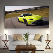 Load image into Gallery viewer, Aston Martin Vantage Metal Print