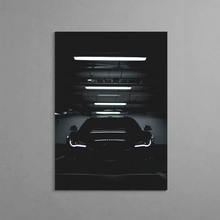Load image into Gallery viewer, Audi R8 Night-time Metal Print