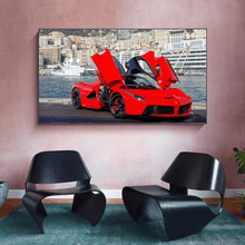 Load image into Gallery viewer, Ferrari LaFerrari Metal Print - CARSOVRGIRLS