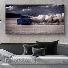 Load image into Gallery viewer, Audi R8 Automotive Metal Car Print