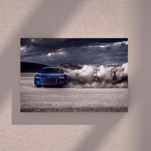 Load image into Gallery viewer, 2020 Audi R8 Desert Metal Print