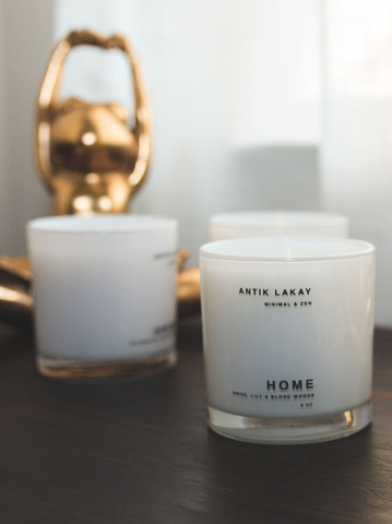 This minimal home wellness brand uses a high quality coconut and soy blend paired with subtle fragrances to create the perfect candles.
