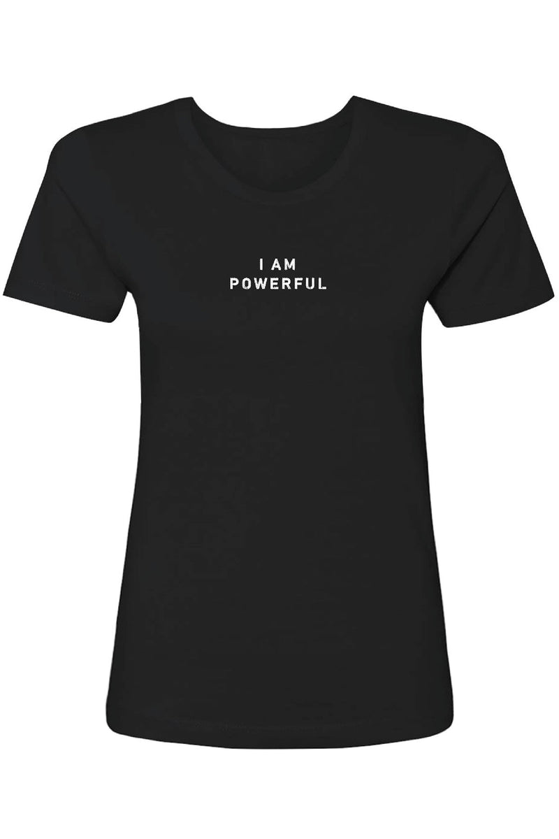 Embroidered I Am Powerful Tee