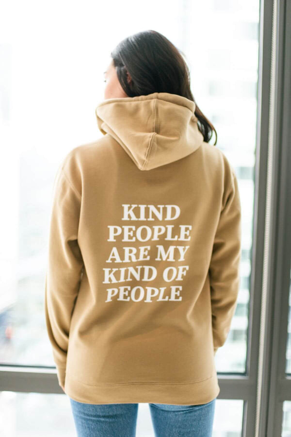Kind People Boyfriend Hoodie