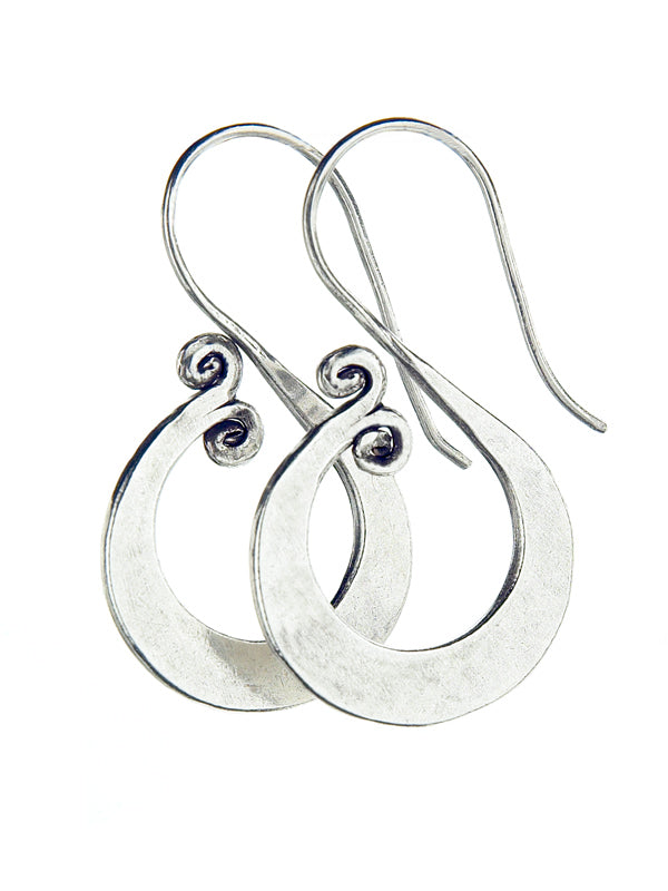 Silver Earrings TE101