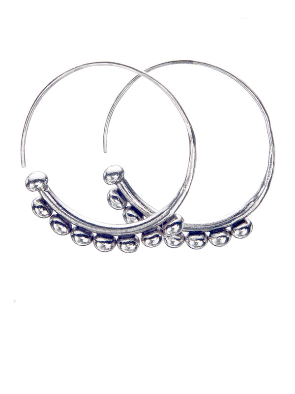 Silver Earrings TE167