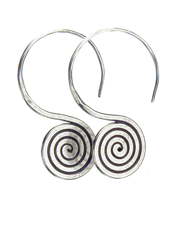 Silver Earrings TE67