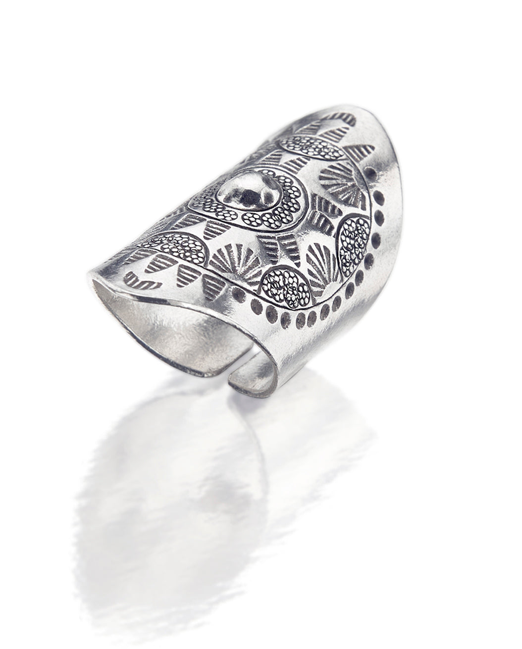 Tribal Shield Ring TR117