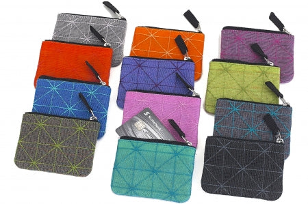 Recycled Net Card Holder