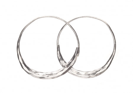 Moon Hoop Earrings TE172