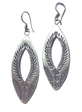 Jungle Leaf Earrings TE204