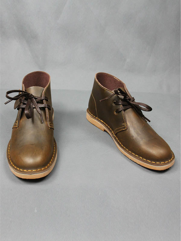 Men's Retro Casual Leather Short Boots