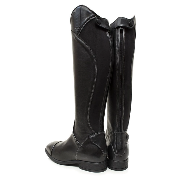 Women Long Riding Boot - Black