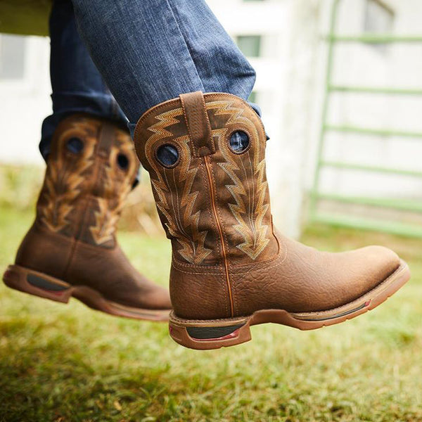 Men'S Waterproof Western Boots Cowboy Boots