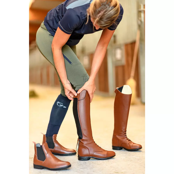 Women Long Equestrian Boots Riding Boots