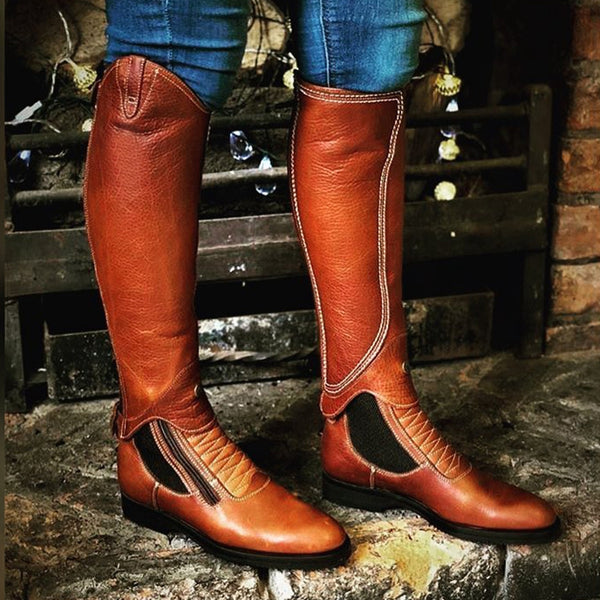 The Flexy Gaiter Riding Boots Equestrian Boots Two Way to Wear