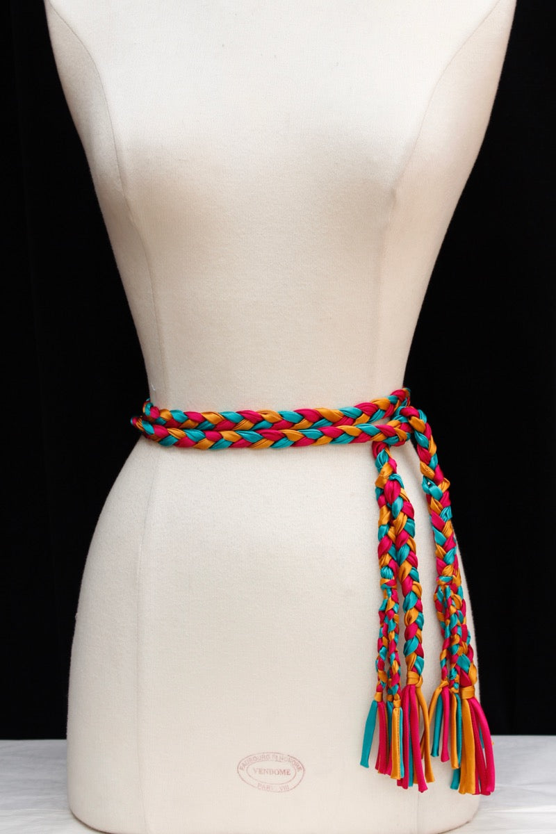 Ceinture multicolore Yves Saint Laurent (Attribuée à)