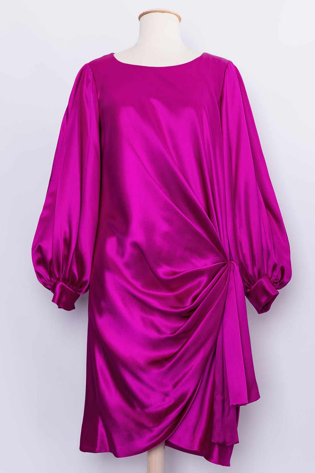 Yves Saint Laurent Haute Couture silk dress