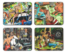 Load image into Gallery viewer, Set of 4 Coasters