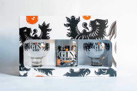 <transcy>Gin de Binche gift box 70cl / 2 glasses</transcy>