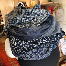 Load image into Gallery viewer, Cotton Zen Infinity Scarf | Geometrics