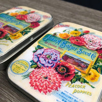 Tin Box | Flower Seed Packet