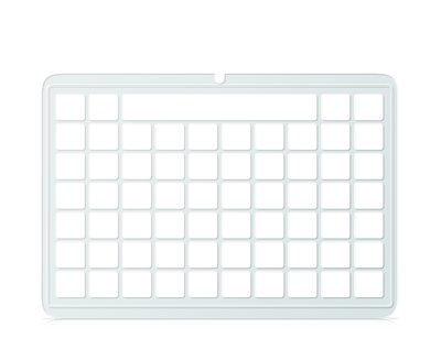 Indi Keyguard Communicator 5 grid 7 x 10