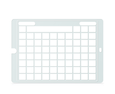 Speech Case Keyguard for Snap Core First with 7x9 Vocabulary Grid 8x10 Total Grid with Menu