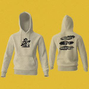 Daley HTG Black Ripped Graphic Hoodie