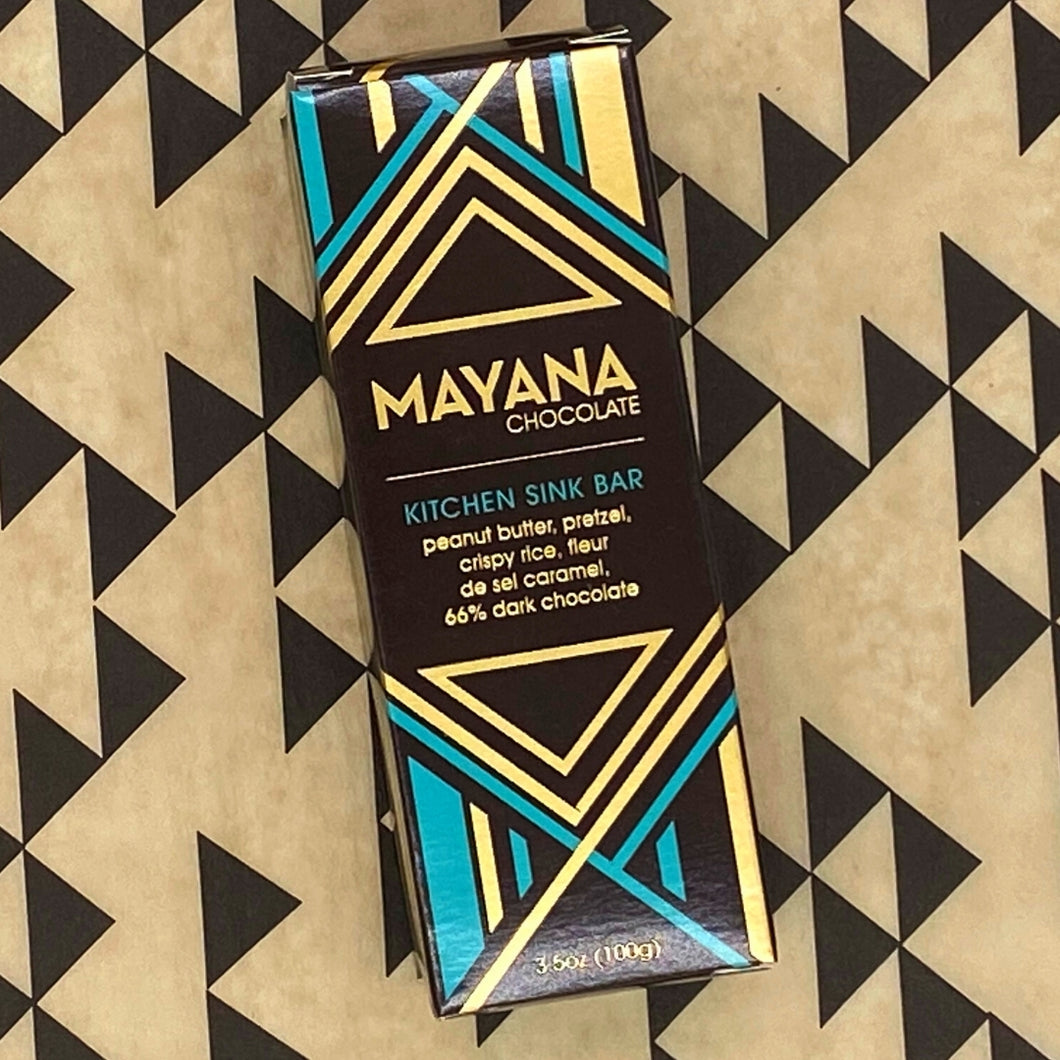 Mayana Chocolate - Kitchen Sink Bar