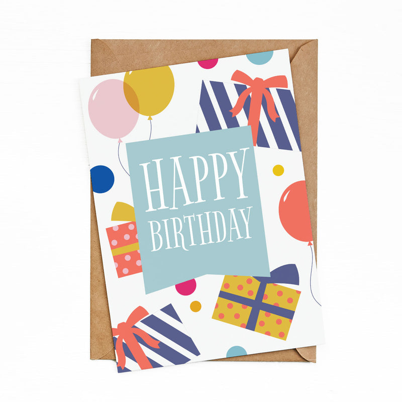 Greeting Cards Happy Birthday Box by bukuqu