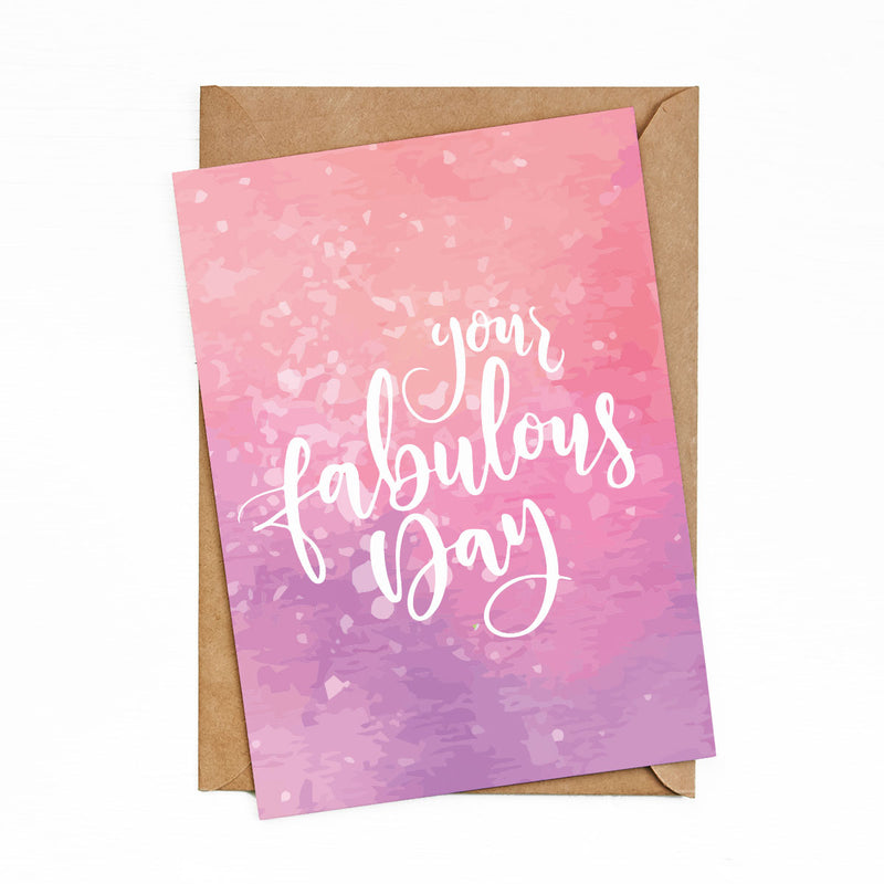 Greeting Cards Fabulous Day by bukuqu