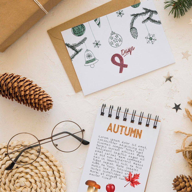 Stiker Journal Autumn by bukuqu
