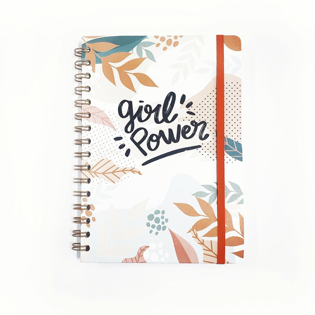 Notebook Spiral GIRLPOWER by bukuqu