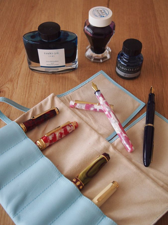 These are my favorite fountain pens and inks.