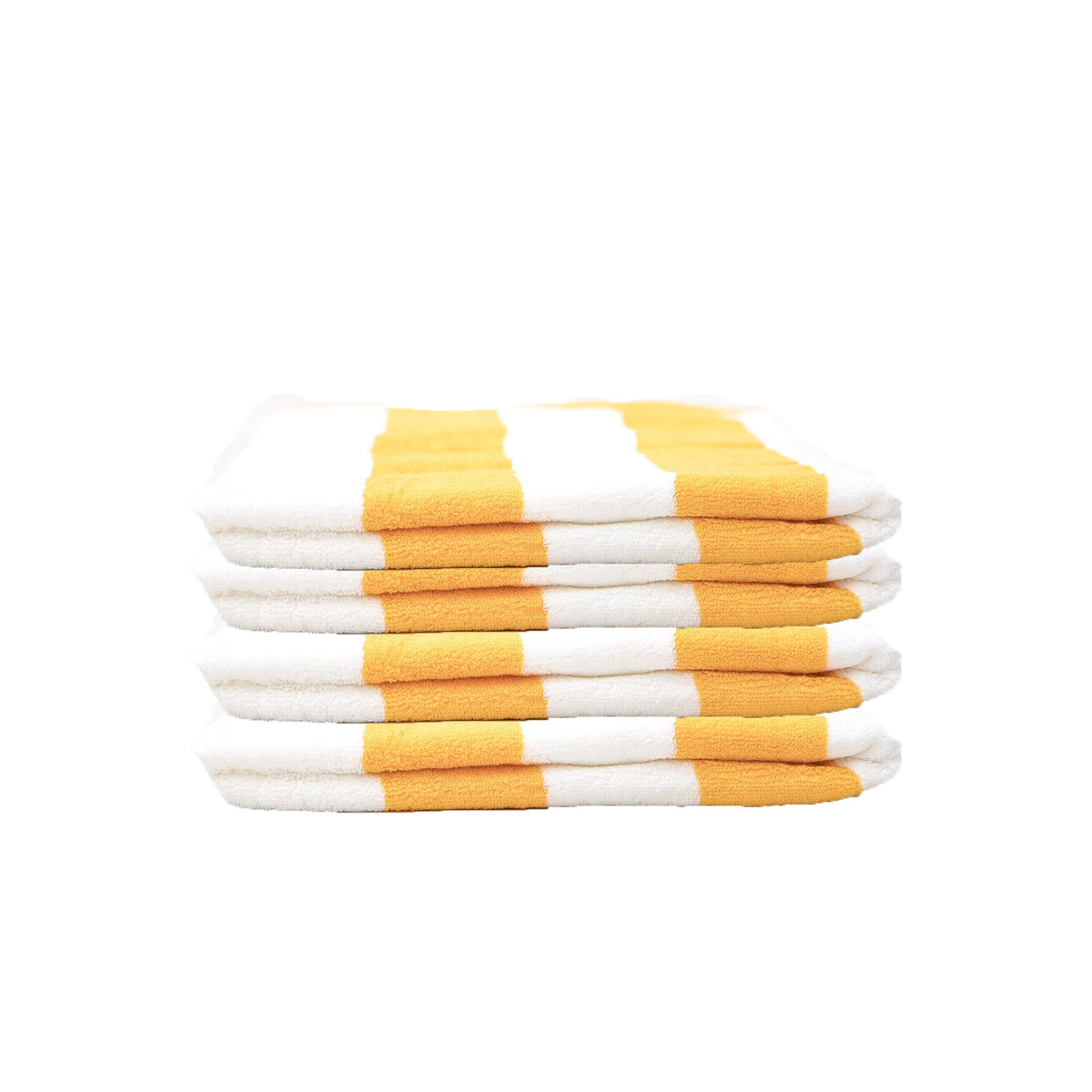 Cabana Striped Pool Towel - Athletic Gold - Terry House