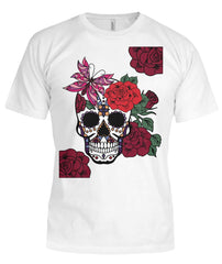 Womens Sugar Skull Shirt