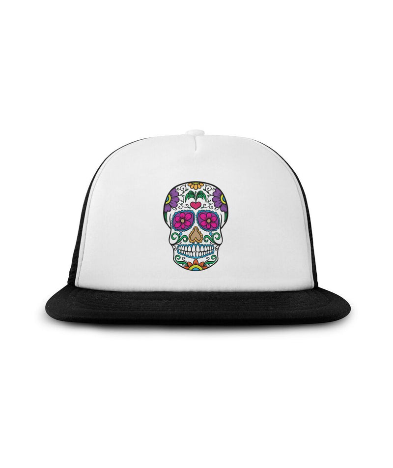 "Sugar Skull ""Sprouting Love"" Sublimation Hat - SugarSkulls.io"
