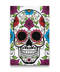 Awesome Skull Art Portrait On Canvas (US ONLY!) - SugarSkulls.io