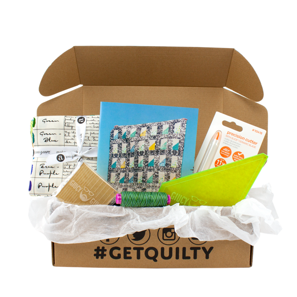 quilty box subscription, Quilty Gift Guide by Penny Spool Quilts