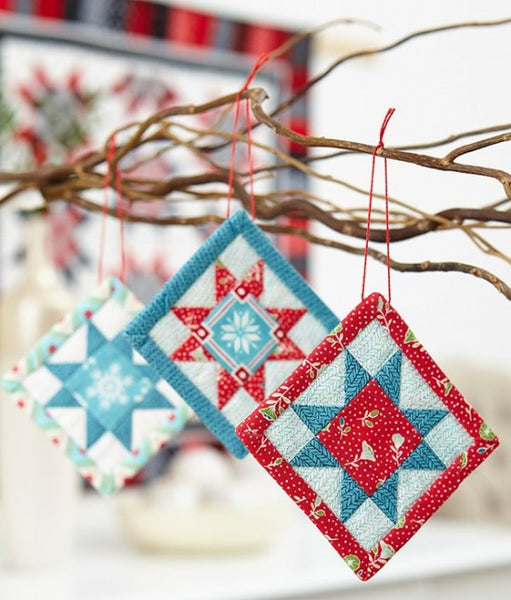 quilted ornament tutorial, Quilty Gift Guide by Penny Spool Quilts