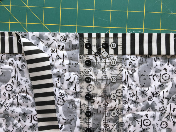 Machine binding tutorial - Penny Spool Quilts