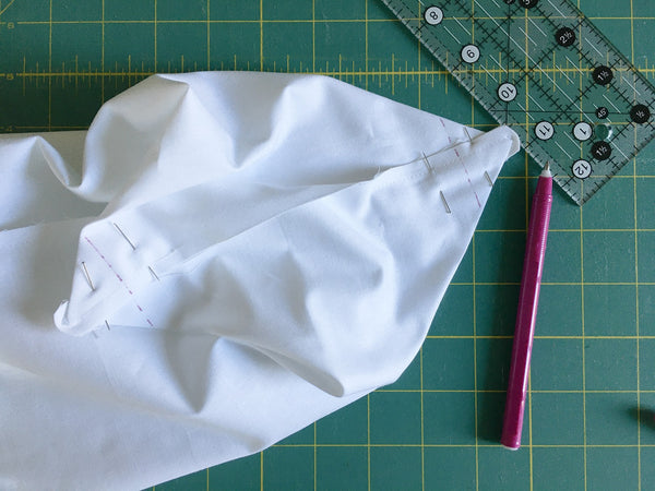 Easy Drawstring Bag Tutorial by Penny Spool Quilts